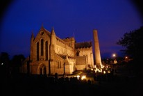 St Canice Cathedral at night